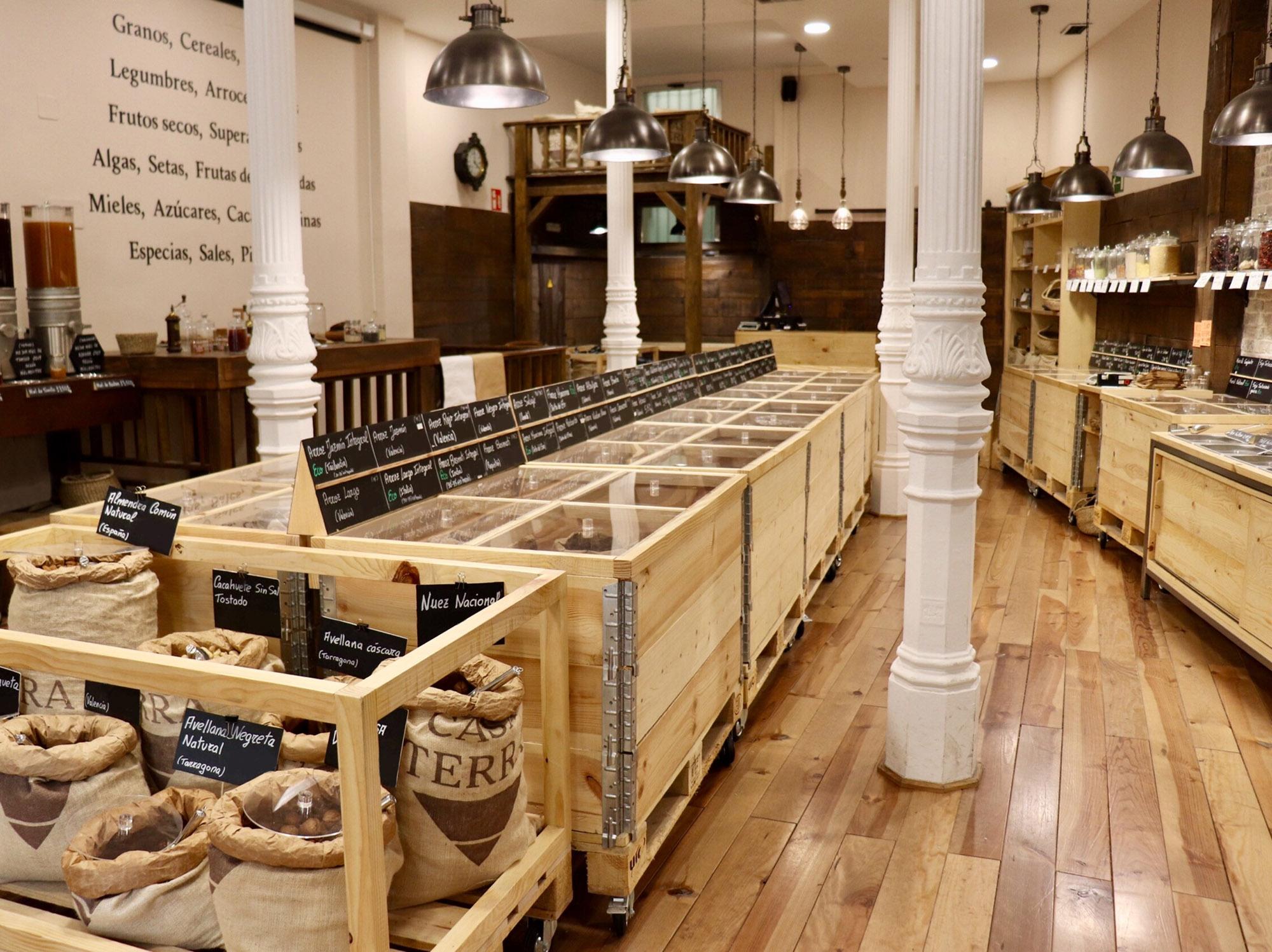Casa Terra - Interior de la tienda